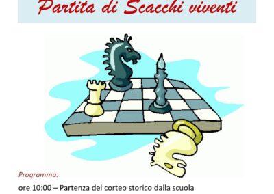 Partita di scacchi viventi